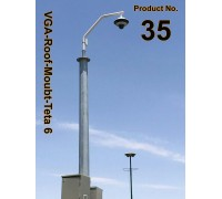 35 براکت تتا سايز 6 ( دکل / بام / لبه ساختمان )  VGA-Roof-Mount