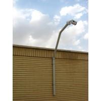 براکت تتا سايز 5 ( دکل / بام / لبه ساختمان / حفاظت پيرامونی ) Teta Bracket size 5