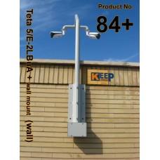 84+ براکت تتا 5 فولادی / دوبل ال ( ديوار / بام / دکل / حفاظت پيرامونی ) Teta 5/E-2L