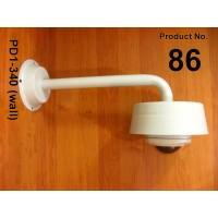 86 براکت دام ثابت ديواری /کفی باکس/ سايه بان / بازوی ال 40 PD 1-340